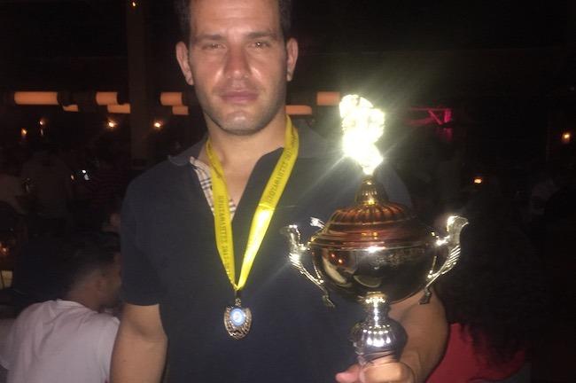Επίσημη απονομή του τροπαίου του Πρωταθλήματος ΡΑΓΚΜΠΙ ΛΙΓΚ στους πρωταθλητές