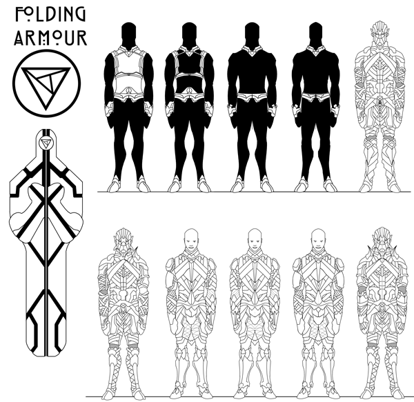 Folding-Armour
