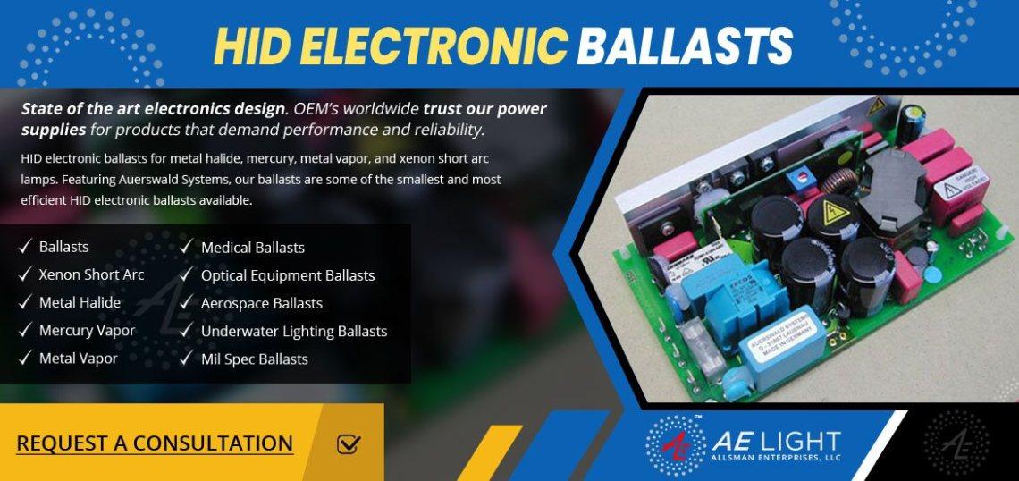 HID ELECTRONIC BALLASTS