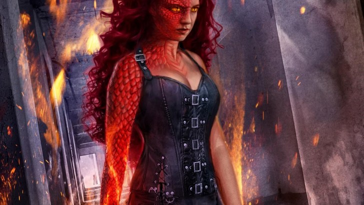 Cover for C. L. Schneider's Urban Fantasy, Night Fire: Flash Point