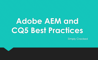 adobe-aem-cq-best-practices-aemcq5tutorials