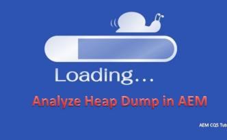 create and analyse heap dump in aem-min