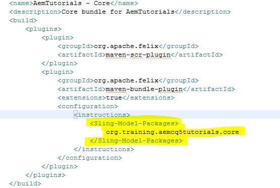 add java package dependencies to java package pom