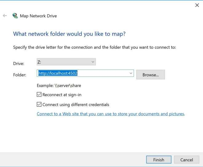 enter-network-drive-path