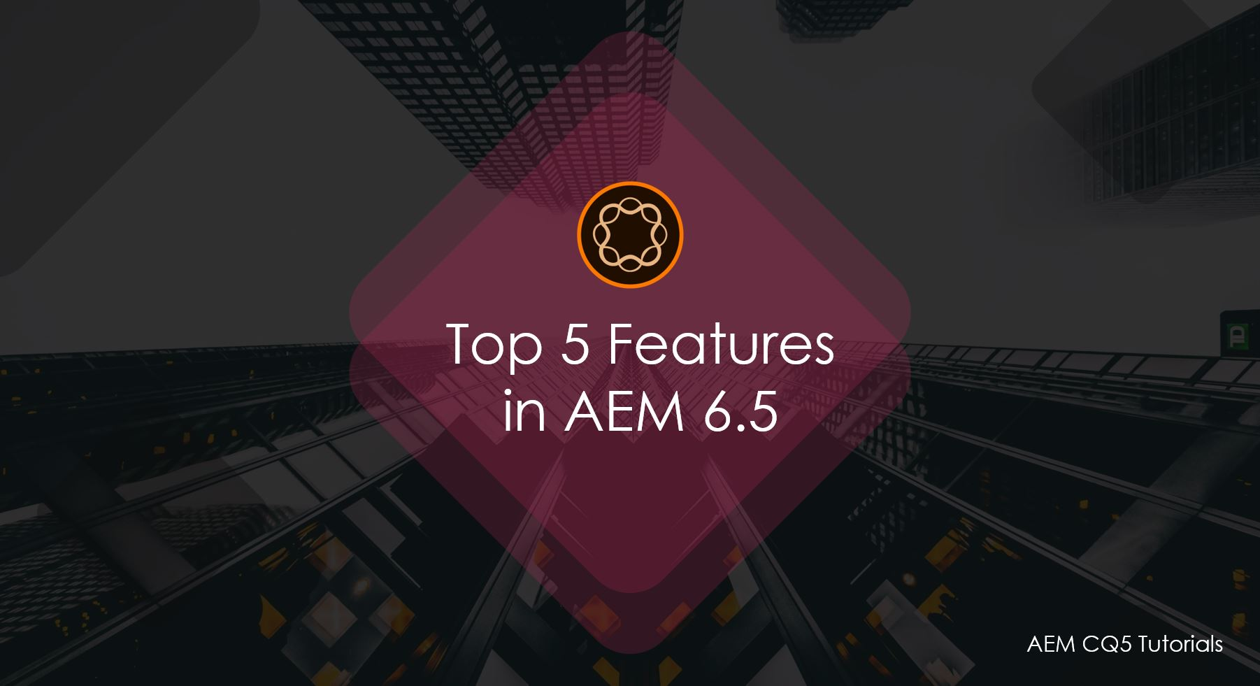 Top 5 Features in Adobe Experience Manager 6 5   AEM CQ5