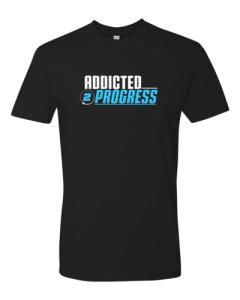 Addicted 2 Progress T Shirt Black