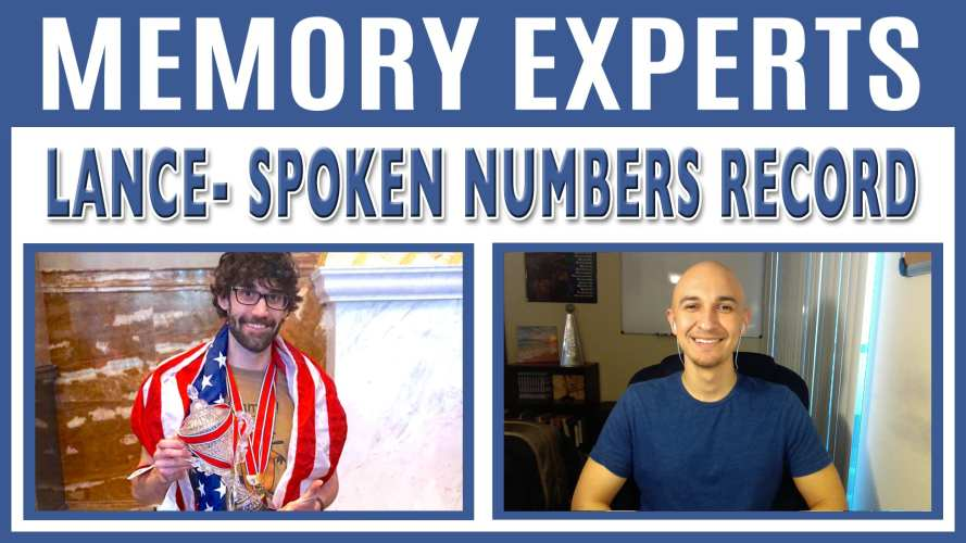 Lance – Spoken Numbers Record Holder | Memory Experts with Luis Angel