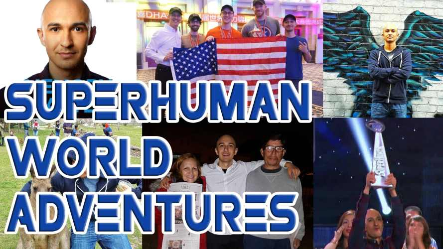 2015 World Travels and Memory Championships | Luis Angel Superhuman Adventures