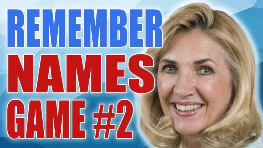 Remember Names Game 2