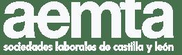 Logo AEMTA blanco