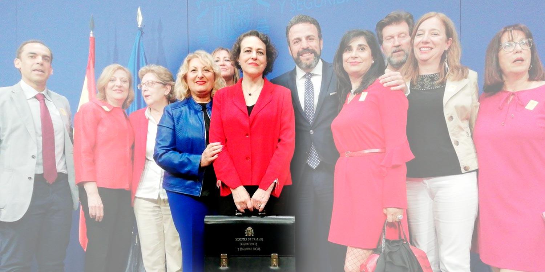 Nombramiento de Maria Antonia Perez León