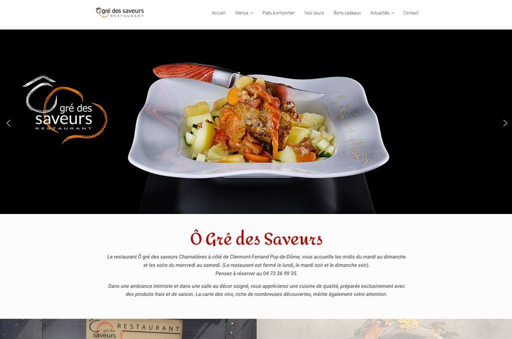 Création de site Internet Restaurant