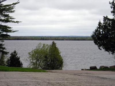 Look toward Quebec