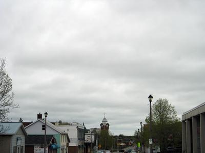 Museum Under Cloudy Sky