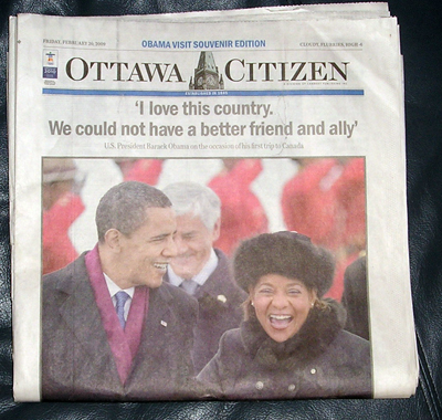 Ottawa Citizen Feb 20 2009