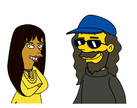 DreamCat & TaleRocker Simpsonized