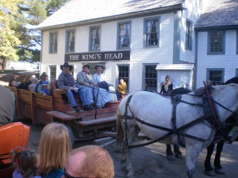 Period Inn in King's Landing, New Brunswick.