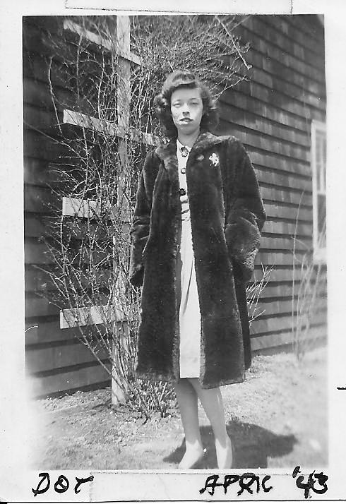 Mom in April of 1943