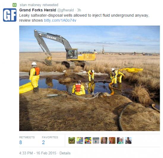 Leaky Fracking Type Wells & Govt Nonsense