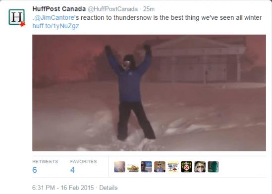 Thunder Snow Reaction