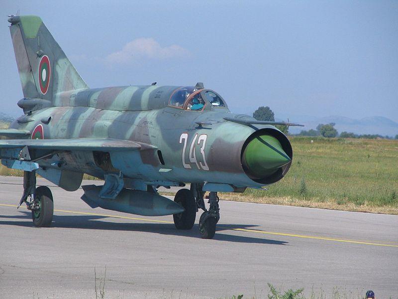 MiG-21_Bulgarian_Air_Force