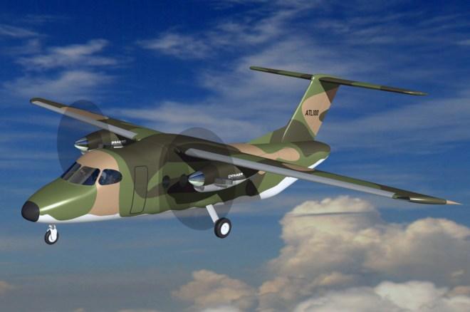 DESAER revela detalhes da versão militar do ATL-100 - Poder Aéreo - Aviação  Militar, Indústria Aeronáutica e de Defesa