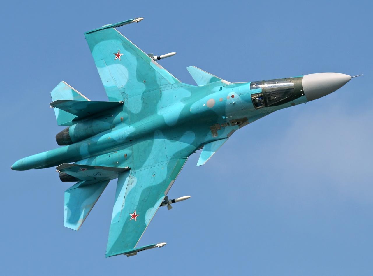 Su-34 FULLBACK | Mudamos de casa