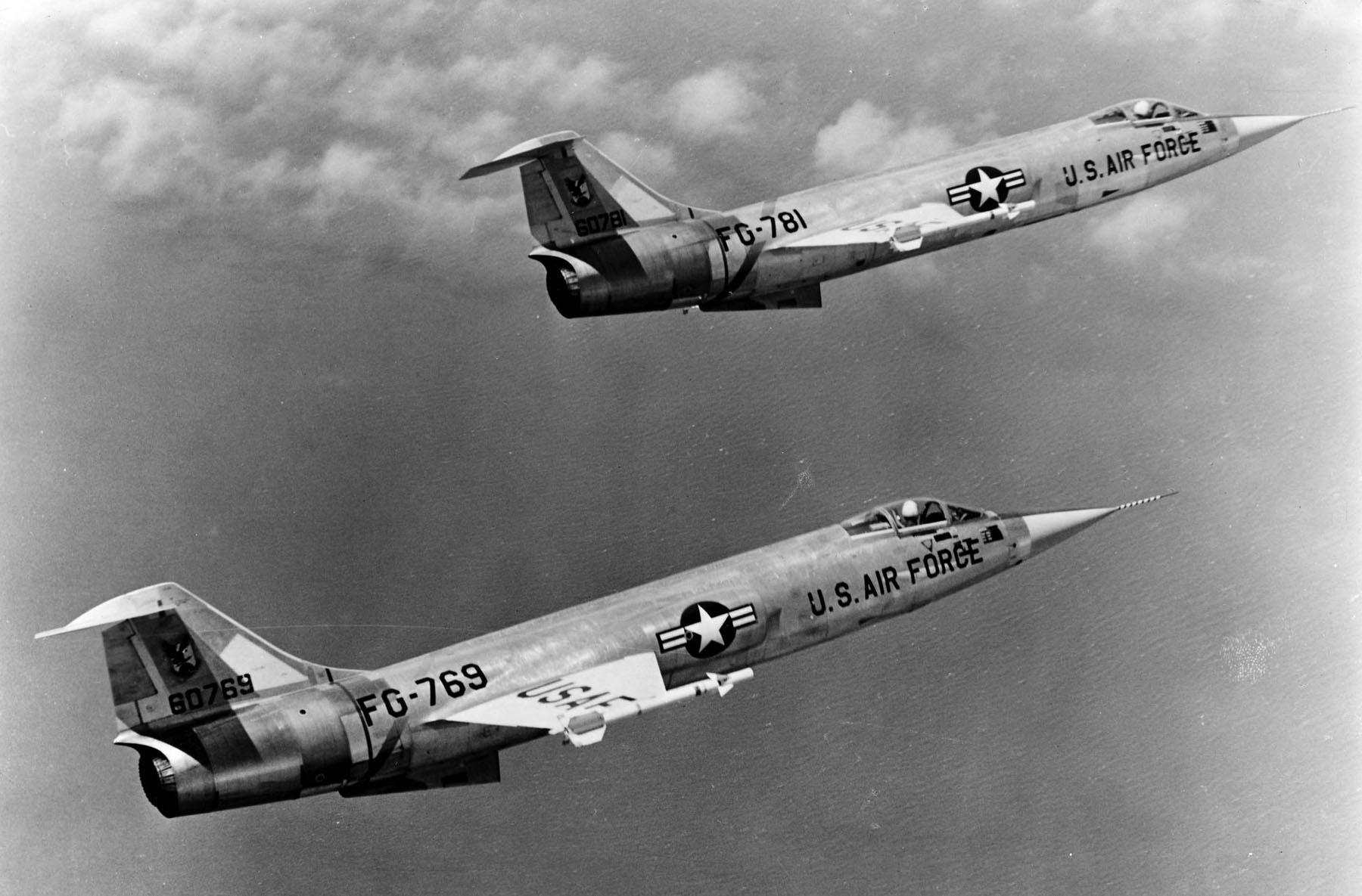 Lockheed F-104A