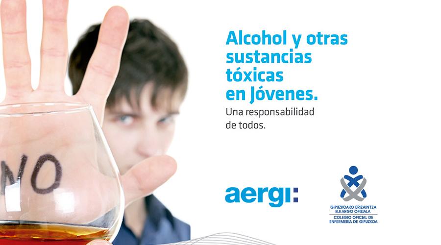 Alcohol y otras sustancias tóxicas entre jóvenes, charla para ciudadanos en el COEGI