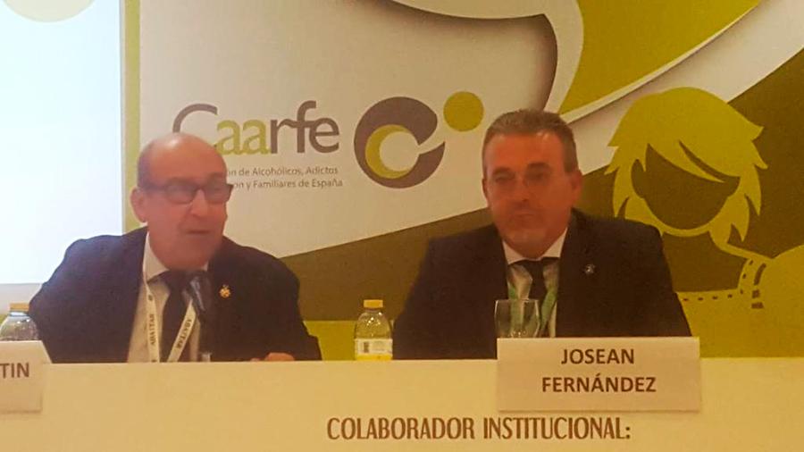 'Psicotrópicos y manipulación social' V Convención de CAARFE