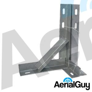 "AerialGuy - 12"" Galvanised T&K Wall Bracket Kit"