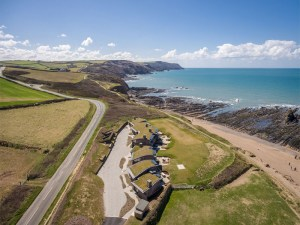 Widemouth Bay Drone