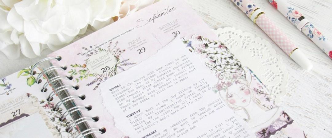 daphne's diary memory planner: september + october