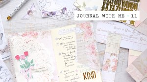 journal with me #11