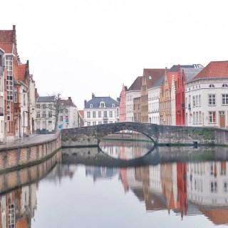 a day in bruges, belgium