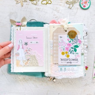 my introduction spread in my summer stories journal   journal with me ✩ 51