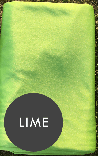 lime green aerial silks