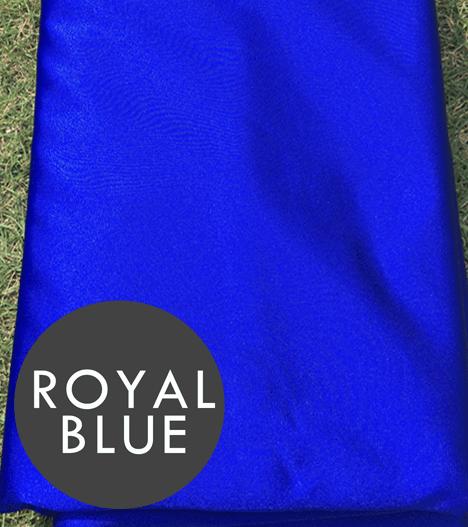 blue aerial silks