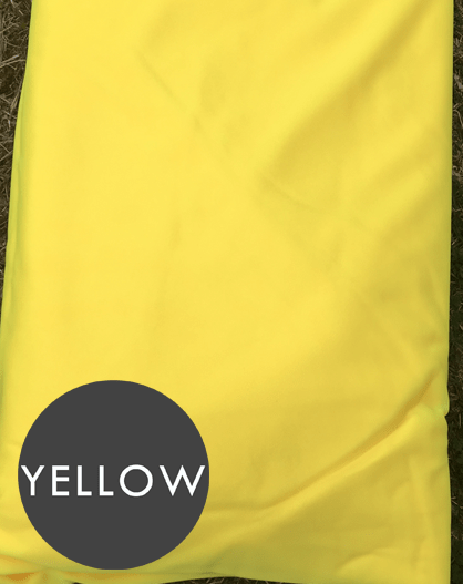 yellow aerial silks