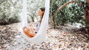 Aerial yoga hammock for sale