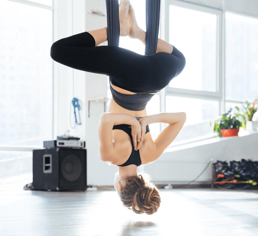 aerial yoga hammock blog post