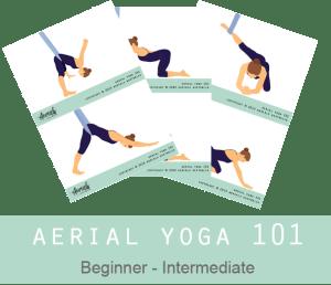 Aerials Australia Yoga Hammock Poses
