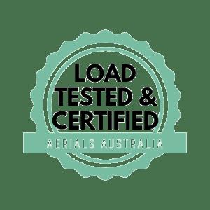 Aerial Sports Equipment Load Certified Australia