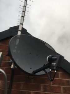 Sky mini satellite dish