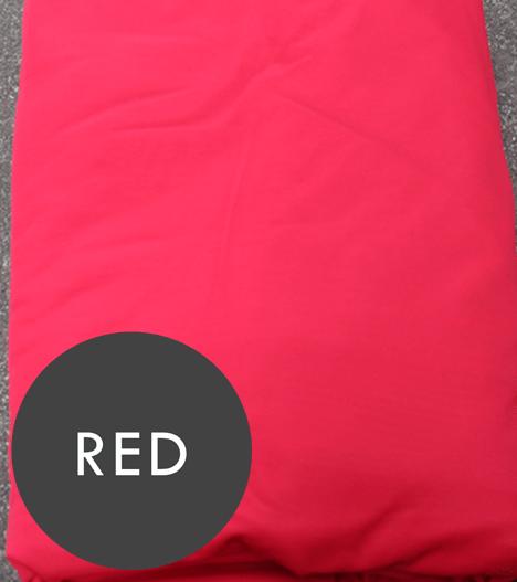 aerial silks red