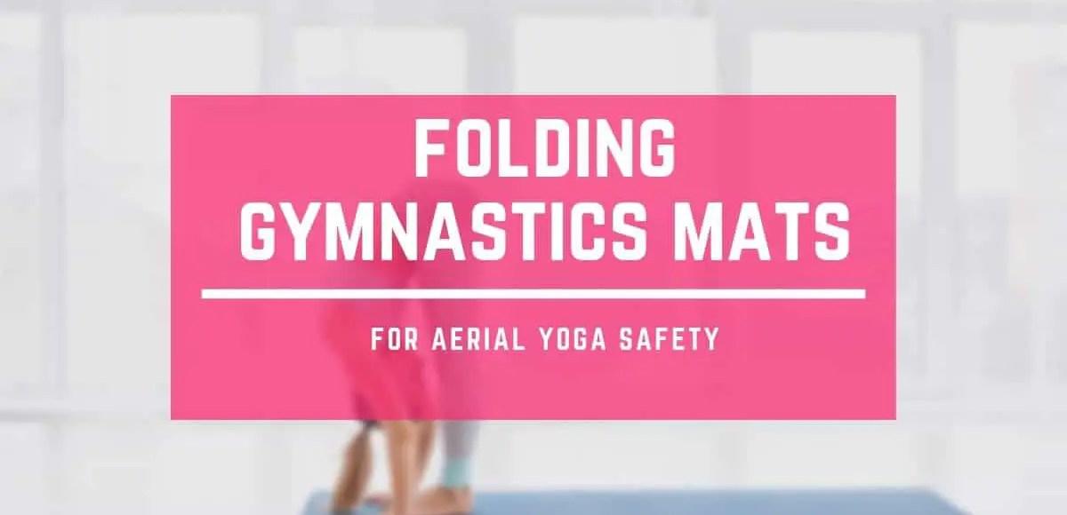 Folding gymnastics mats