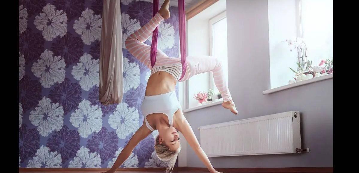 Aerial Rigging for aerial yoga hammock