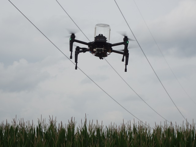 Droni per Agricoltura - Lotta Biologica Piralide Mais
