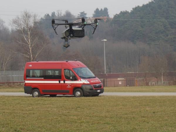 Produttore droni per ricerca e soccorso
