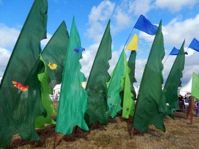 Ein Wald auf dem Tempelhofer Feld